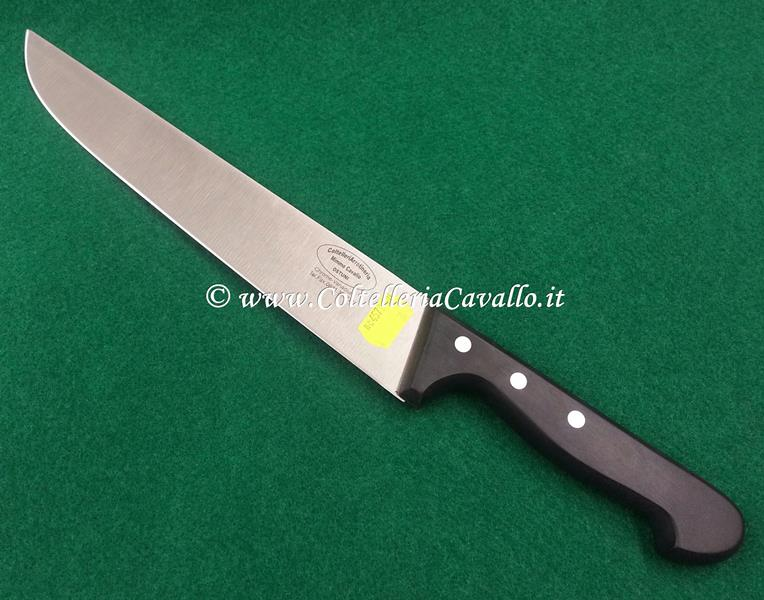 COLTELLO MACELLAIO CM.26 LINEA POM BLACK