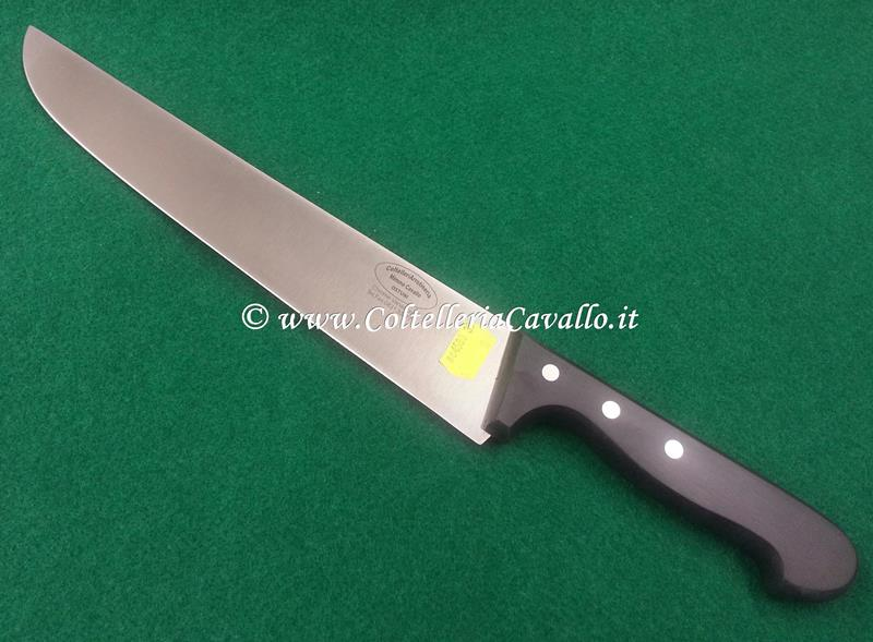 COLTELLO MACELLAIO CM.30 LINEA POM BLACK