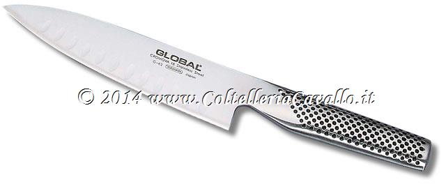 COLTELLO GLOBAL CUOCO CON ALVEOLI G-63