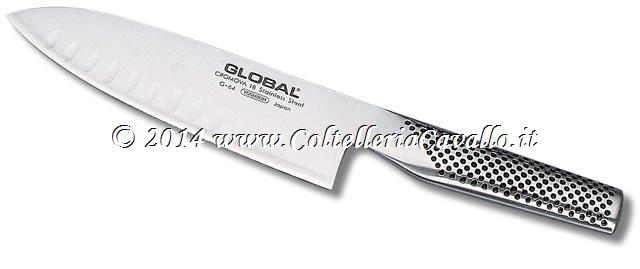 COLTELLO GLOBAL CUOCO CON ALVEOLI G-64 o G84