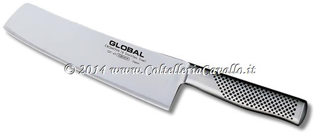 COLTELLO PER VERDURE FORGIATO GLOBAL GF-43
