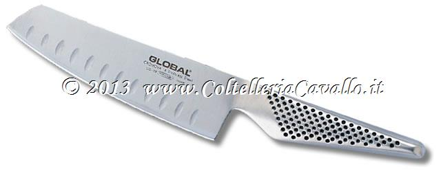 COLTELLO GLOBAL VERDURE ALVEOLATO GS-39